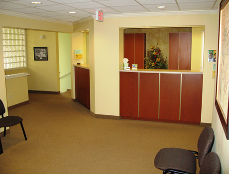 Visit our warm and inviting Reception Room.